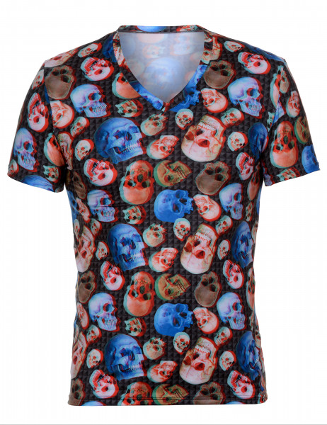 3-D - V-Shirt