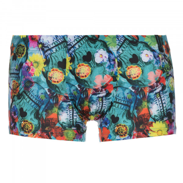 Flower Skull - Hip shorts
