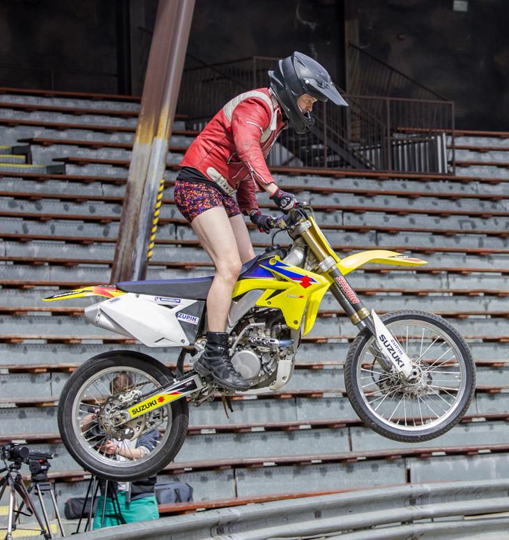 Motorcross-Sprung in bruno banani-Unterhose